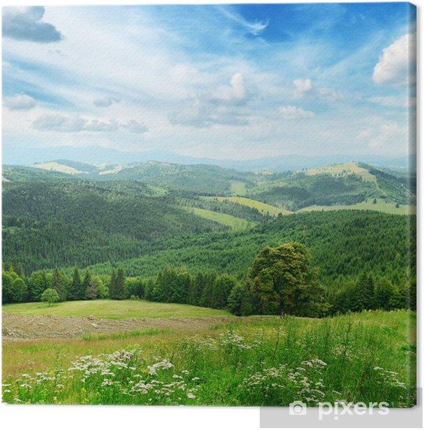 Obraz na płótnie Piękne góry - Góry