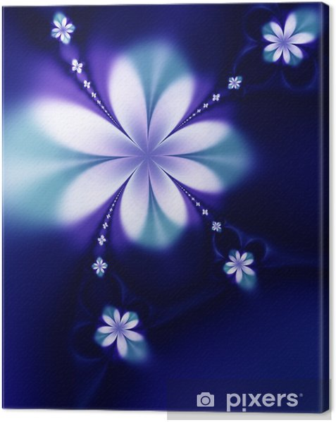 Obraz na płótnie Piękne kwiaty - Kwiaty