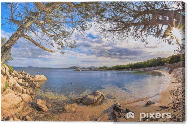 Obraz na płótnie Piękne Oceanu brzegową w Costa Smeralda, Sardynia, Włochy - Pory roku