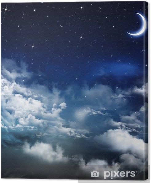Obraz na płótnie Piękne tło, nocne niebo - Tematy