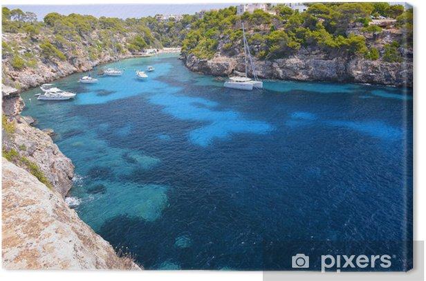 Obraz na płótnie Pięknej plaży Cala Pi w Mallorca, Hiszpania - Tematy