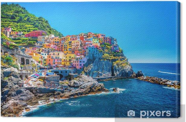 Obraz na płótnie Piękny kolorowy pejzaż - Tematy