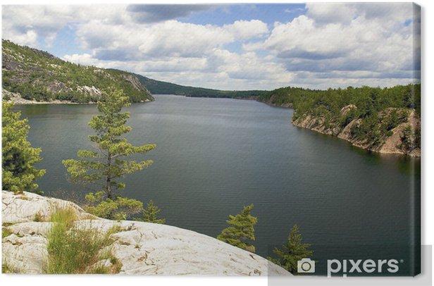 Obraz na płótnie Piękny widok - Woda