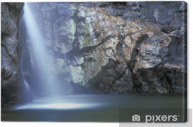 Obraz na płótnie Piękny wodospad - Cuda natury