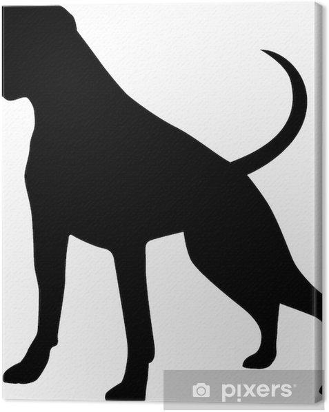 Obraz na płótnie Pies bokser - Naklejki na ścianę