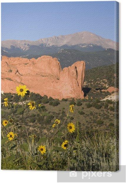 Obraz na płótnie Pikes Peak & Garden of the Gods - Góry