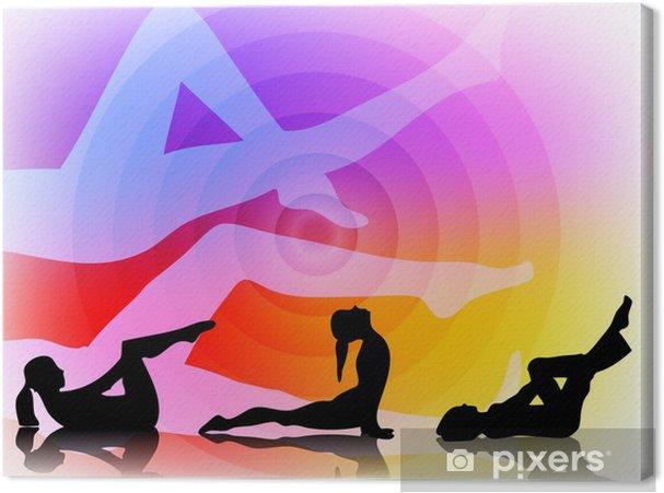Obraz na płótnie Pilates - Zdrowie