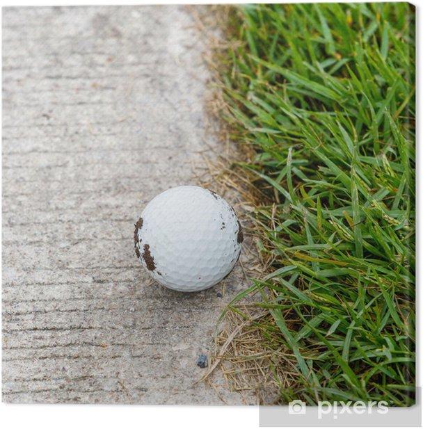 Obraz na płótnie Piłka golfowa - Tematy