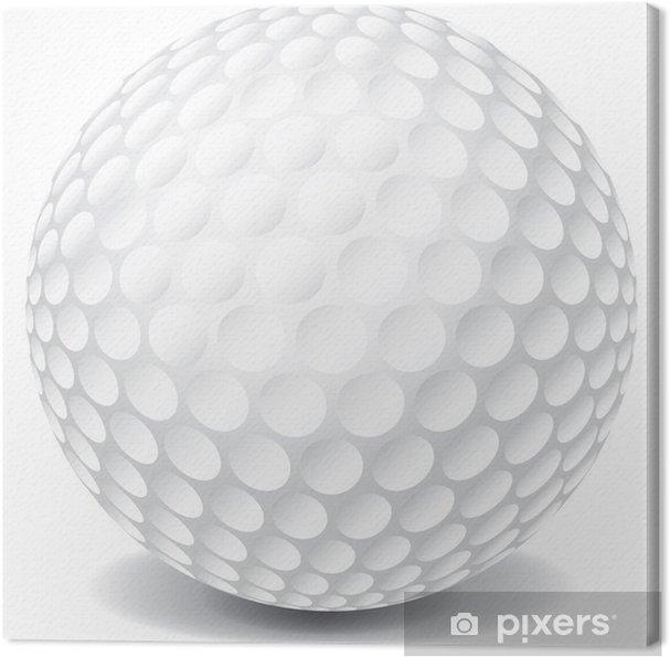 Obraz na płótnie Piłka golfowa - Artykuły sportowe
