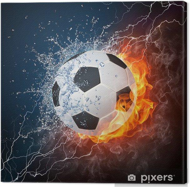 Obraz na płótnie Piłka nożna -