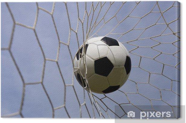 Obraz na płótnie Piłka w netto cel - Sporty drużynowe