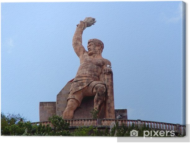 Obraz na płótnie Pipila pomnik w Guanajuato - Ameryka
