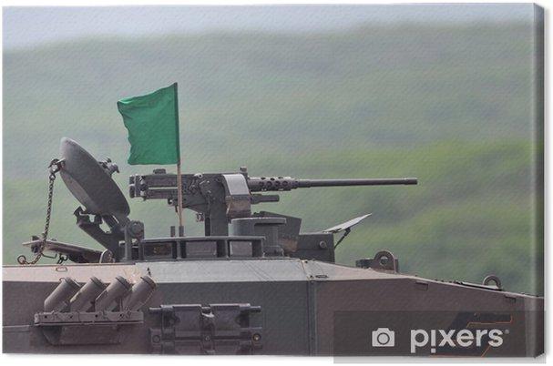 Obraz na płótnie Pistolet maszynowy Type 90 zbiornika - Transport drogowy