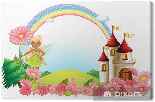 Obraz na płótnie Pixie i zamek - Zabytki
