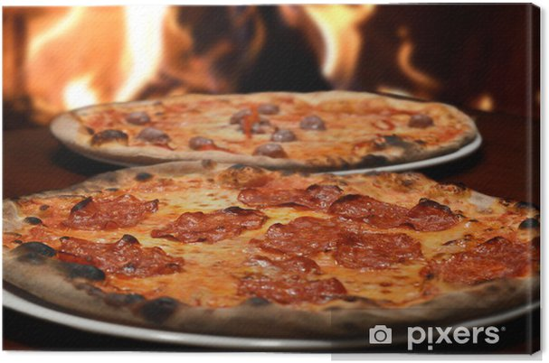Obraz na płótnie Pizza włoska restauracja - Ryż