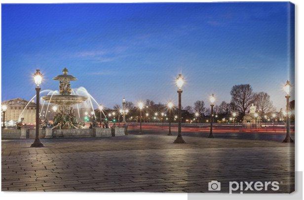 Obraz na płótnie Place de la Concorde w Paryżu France - Miasta europejskie