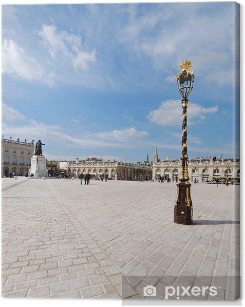 Obraz na płótnie Place Stanislas 3 - Pejzaż miejski
