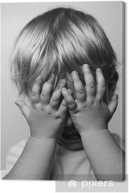 Obraz na płótnie Płacz chłopca - Tematy