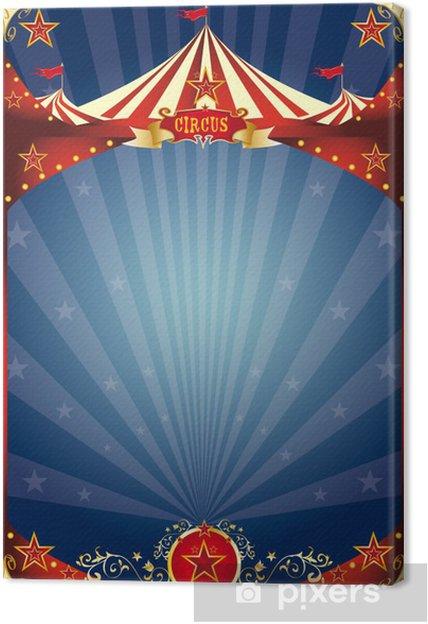 Obraz na płótnie Plakat funy cyrk - Rozrywka