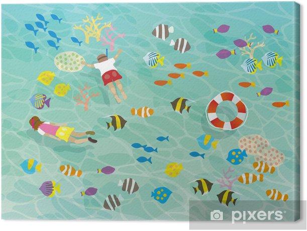 Obraz na płótnie _ plakaty Morze - Woda