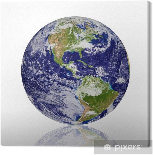 Obraz na płótnie Planeta Ziemia - Przestrzeń kosmiczna