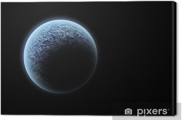 Obraz na płótnie Planeta - Przestrzeń kosmiczna