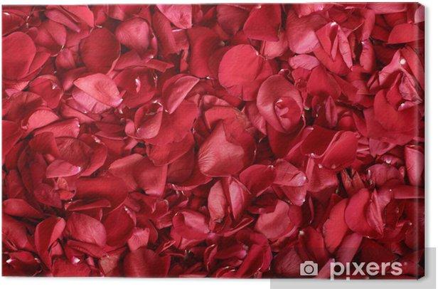 Obraz na płótnie Płatki róż - Święta międzynarodowe