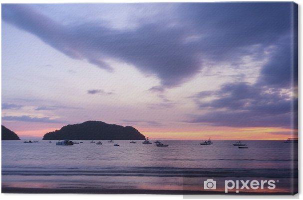 Obraz na płótnie Playa Herradura - Ameryka