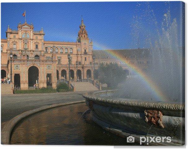 Obraz na płótnie Plaza Hiszpanii, Sewilla - Europa
