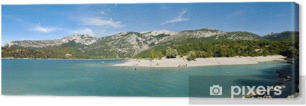 Obraz na płótnie Plaża Jeziora Świętego Krzyża - Wakacje