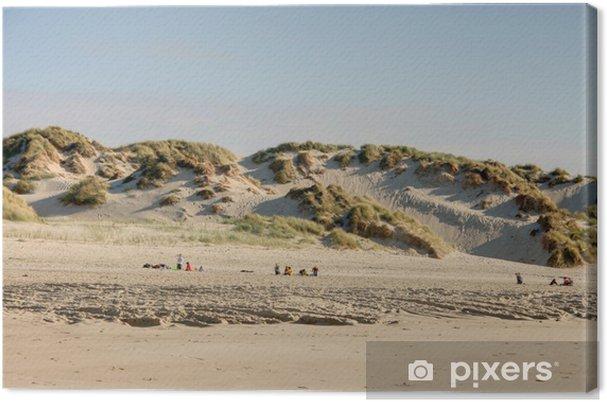 Obraz na płótnie Plaża z Morza Północnego - Europa