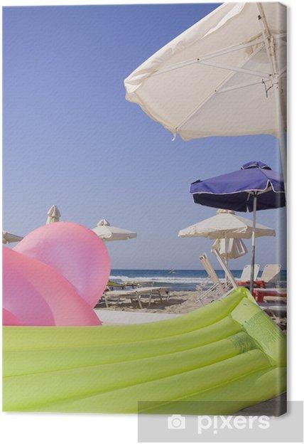 Obraz na płótnie Plaża - Wakacje