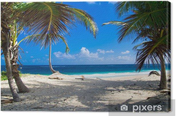 Obraz na płótnie Plaża - Woda