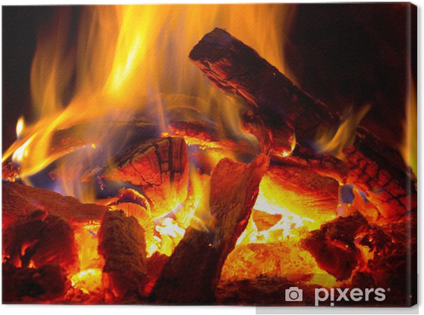 Obraz na płótnie Płomień ognia - Tematy