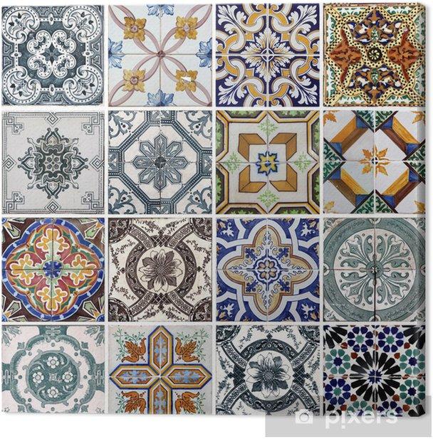 Obraz na płótnie Płytki Lizbona - Płytki