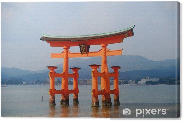 Obraz na płótnie Pływające Torii, Miyajima, Japonia - Azja