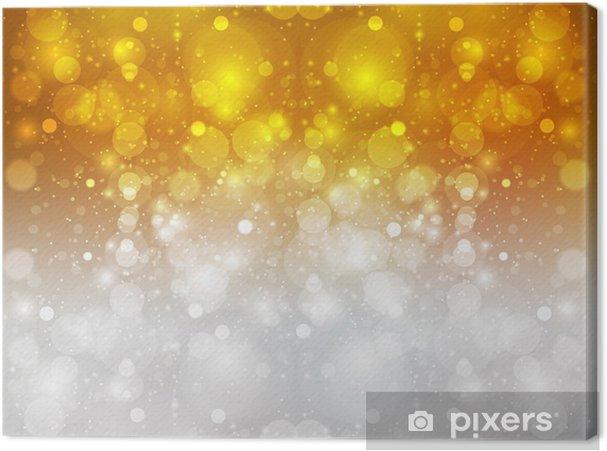 Obraz na płótnie Pochodni tło złoto srebro - Surowce