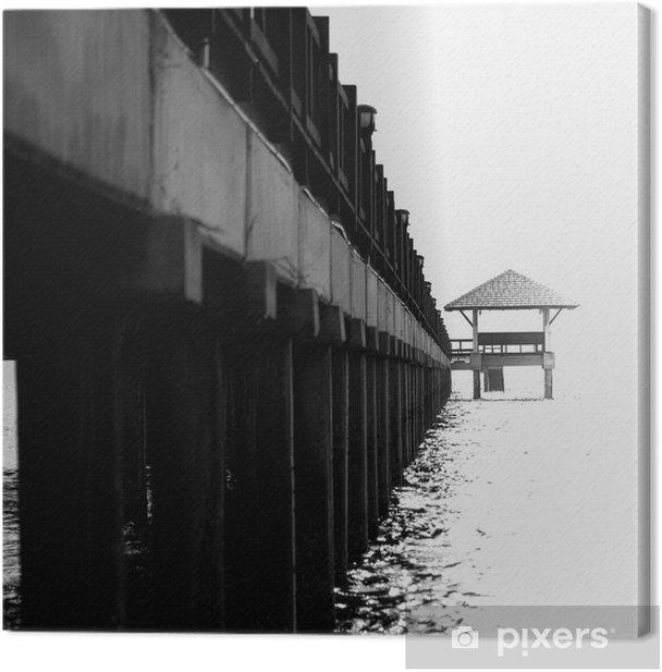 Obraz na płótnie Pod mostem - Infrastruktura
