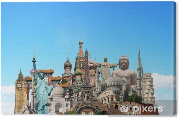 Obraz na płótnie Podróżować koncepcję zabytki świata - Miasta azjatyckie