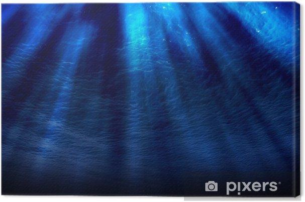 Obraz na płótnie Podwodne sceny - Woda