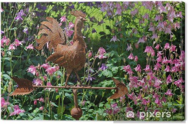 Obraz na płótnie Pogoda-cock w ogrodzie - Dom i ogród
