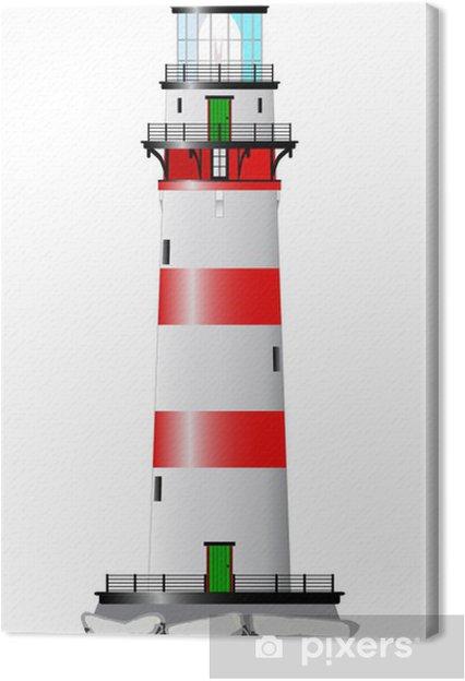 Obraz na płótnie Pojedyncze latarni - Infrastruktura