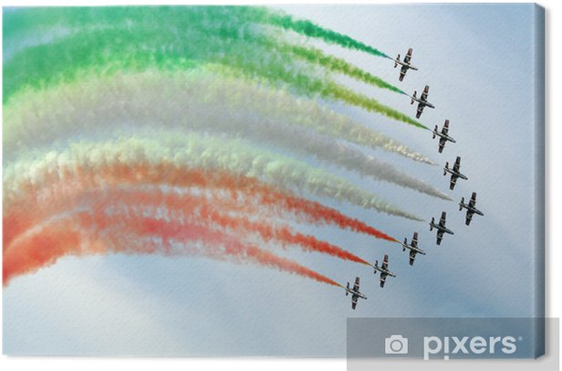 Obraz na płótnie Pokaz lotniczy - Transport powietrzny
