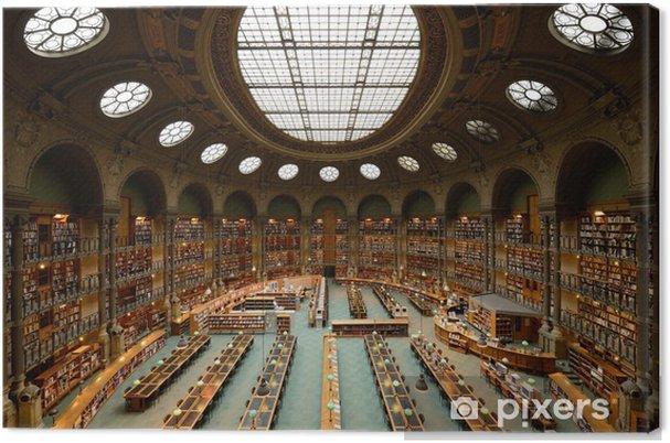 Obraz na płótnie Pokój z biblioteki, urządzone w starym stylu - Budynki użyteczności publicznej