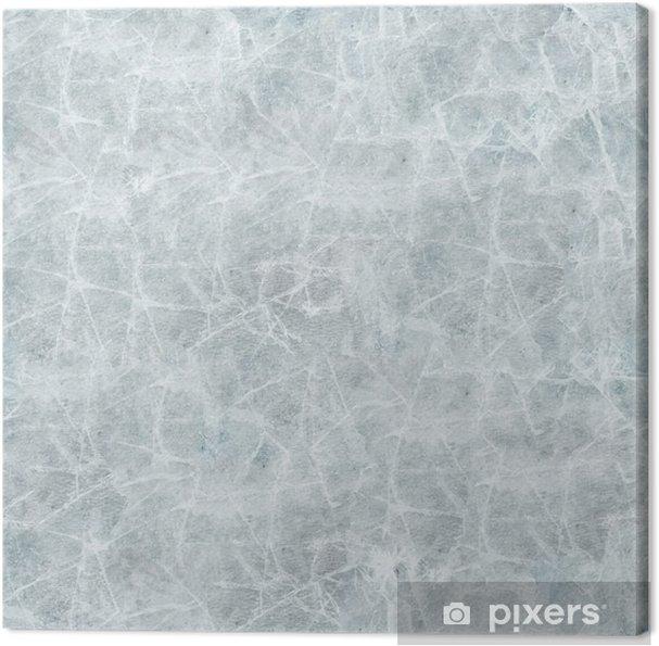 Obraz na płótnie Pokrywa lodowa bezszwowych tekstur. - Zasoby graficzne