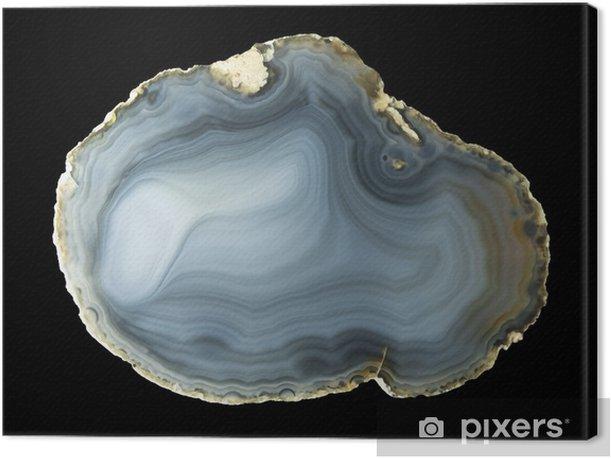Obraz na płótnie Polerowany naturalny agat Geode - Moda