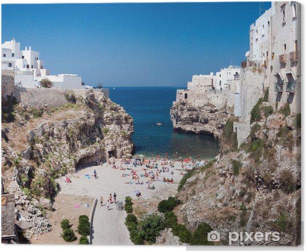 Obraz na płótnie Polignano mare - Wakacje
