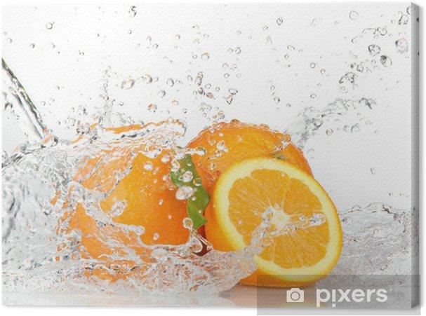 Obraz na płótnie Pomarańczowe owoce z zalewaniem - Przeznaczenia