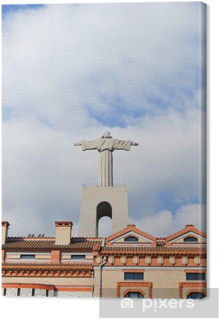 Obraz na płótnie Pomnik Chrystusa Króla w Lizbonie Portugalii - Miasta europejskie