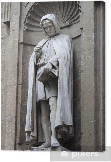 Obraz na płótnie Pomnik Jana Villani w Florencja, Włochy - Europa